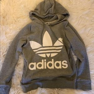 Adidas trefoil hoodie 💕